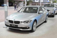 BMW 330e live in Frankfurt