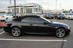 2008 BMW 6-Series M6 Convertible Black