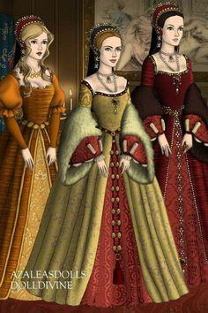 Www.dolldivine.com/thetudors Medieval, Doll Costume, Costumes, Tudor Fashion, Tudor Era, Doll Divine, Anime Princess, Wars Of The Roses, Historical Dress