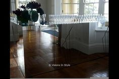 Gatsby Mirrored Bar - Catalogue - Visions In Style Event Design And Creative Event Solutions