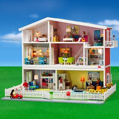 Take a look at the Lundby dollhouse event on zulily today! Great gift ideas at 40% off!