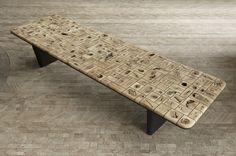 raphael navot, wood eye table