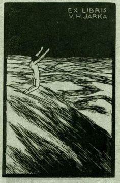 Exlibris V. H. Jarka by František Kobliha