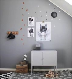 Beautifully simple and serene gray rooms to inspire you.