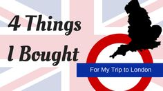 4 Items I Bought for My England Trip | prettyofficerkidd