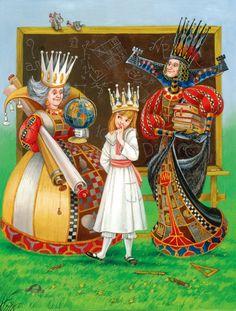 Alice in Wonderland by Maxim Mitrofanov