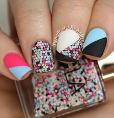 NCLA This Party Never Ends Swatch Nail Art