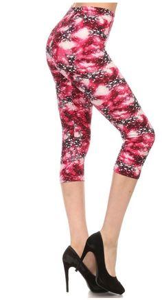 7b26ba0bcc9da6 19 Best White Plum Print Leggings images | Print leggings, Printed ...