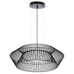 Matière principale:Métal                                                                                                                                           Couleur:Noir                                                                                                                                                                               Type de culot:LED intégrée           ...