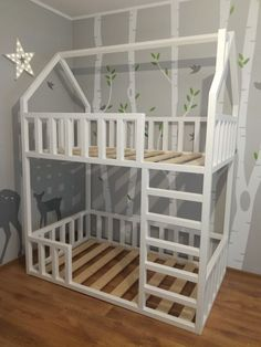 Could be good Boy And Girl Shared Bedroom, Shared Rooms, Big Girl Rooms, Girls Bedroom, Baby Room Decor, Nursery Room, Boy Room, Kids Room, Diy Toddler Bed