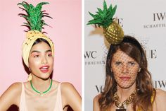 pineapple fascinators are the perfect summer accessory!