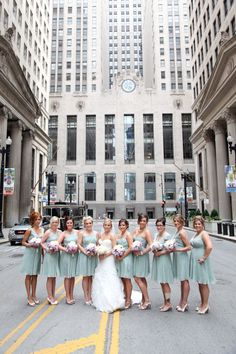 Chicago Wedding at Germania Place by Robyn Rachel Photography Big City Bride| Style Me Pretty  Read more - http://www.stylemepretty.com/illinois-weddings/2012/08/14/chicago-wedding-at-germania-place-by-robyn-rachel-photography/
