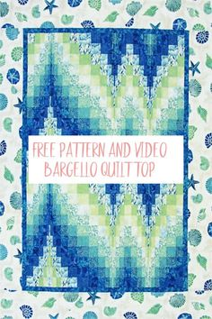 Learn to Make a Bargello Quilt-Free Pattern A bargello quilt is easy to make with strips of fabric sewn together to create the appearance of movement. Find out how with this free pattern and video. Bargello Quilt Patterns, Bargello Quilts, Jelly Roll Quilt Patterns, Jellyroll Quilts, Quilt Patterns Free, Easy Quilts, Fabric Patterns, Free Pattern, Sewing Patterns