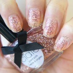 Ciate – Tweed Collection – Sloaney, Sweetie – Nail Swatch - http://nailtheday.com/2014/12/ciate-tweed-collection-sloaney-sweetie-nail-swatch/