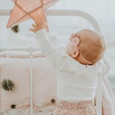 Dusty pink star lantern by Numero74 #numero74 #kidsdecor #babydecor #babyroom…