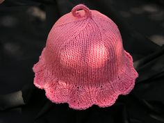 Ravelry: solaris' Sun Hat Baby Hat Knitting Pattern, Baby Hat Patterns, Baby Hats Knitting, Knitting For Kids, Knitting Patterns Free, Free Knitting, Knitting Projects, Knitted Hats, Free Pattern