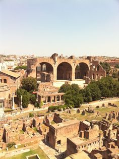 Ancient Rome: Basilica of Maxentius and Constantine at the Roman Forum