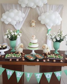 Super Ideas baby shower desserts table gender neutral – Baby Shower Ideas for Girls – Grandcrafter – DIY Christmas Ideas ♥ Homes Decoration Ideas Idee Baby Shower, Diy Shower, Shower Party, Baby Shower Games, Baby Shower Parties, Baby Boy Shower, Cloud Baby Shower Theme, Lamb Baby Showers, Shower Ideas