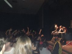 22. Jan 27, LA:  The UCLA student crowd goes off at the RAC show in finals week.  Re-take anybody?