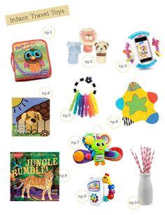 Best infant travel toys | hellobee