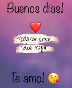 #amor #novios #postalesdeamornovios #romance #frasesdeamornovios #frases #teamo te amo Love My Man, I Love You, Morning Love Quotes, Good Morning Greetings, No One Loves Me, Happy Day, Romantic Love, Love Notes, Birthday Wishes