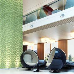 Painéis 3D - KAZA Concrete - Vine