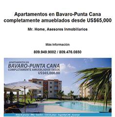Apartamentos en Bavaro-Punta Cana completamente amueblados desde US$65,000 - Publicidad