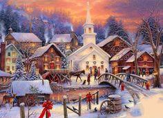 christmasvillage kerstdorp