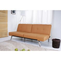 Multi-functional, contemporary style highlights this Jacksonville foldable futon bed. Use this futon bed to accommodate guests quickly and easily without sacrificing style.
