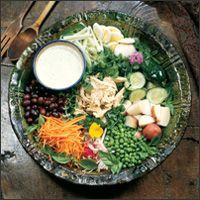 Persian Chicken Salad (Salad-e olivieh)