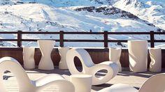 Breakfast terrace 4 stars Val Thorens