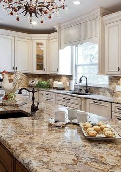 Awesome 80 Beautiful French Country Kitchen Design Ideas #Country #French #Kitchen