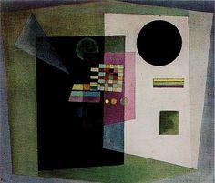 Wassily Kandinsky , Asserting, 1926