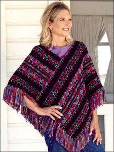 Crocheted Poncho Pattern