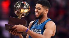 Karl-Anthony Towns is a center from the university of Kentucky. At age 20 he's already considered one of the best at his position. At 7'0 it's really impressive how much he actually can do on the court. His rookie season was so amazing that last year he became the league's first unanimous rookie of the year in league history. That season he put up stats that can only be compared to some of the greatest at his position. He is not just the future of his team he is the future of the NBA as a…