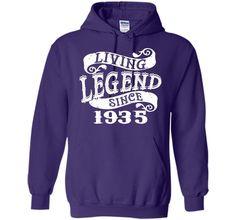 Living Legend 1935 T-shirt - Born In 1935 T-shirt