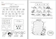 Sala da Educação: Diversas provas e avaliações para o 1º ano prontas para imprimir