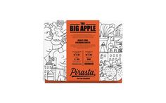 THE BIG APPLE -- REALLY COOL COLORING SHEETS