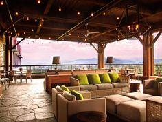 The Edison Restaurant @ Omni Grove Park in Asheville NC Grove Park Inn Asheville, Asheville Hotels, Visit Asheville, Honeymoon Getaways, Romantic Weekend Getaways, Best Honeymoon, Omni Resort, Blue Ridge Mountains, Nc Mountains