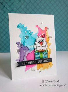 Such an Awesome card created by Thordis using Simon Says Stamp Exclusives.