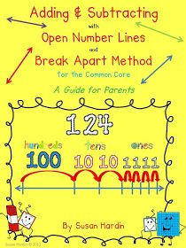 3rd Grade Grapevine: Adding and Subtracting on a Number Line FREEBIE