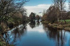 Liffey Linear Park: Newbridge - County Kildare (Ireland) Linear Park, The Locals, North America, Ireland, Public, River, City, Places, Outdoor
