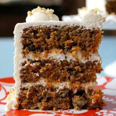 Treat yourself with this Scrumptious Carrot Cake recipe Just Desserts, Delicious Desserts, Yummy Food, Cupcakes, Cupcake Cakes, Cupcake Frosting, Cake Pops, Cake Recipes, Dessert Recipes
