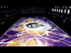 IntroducingtheNike RISE 'House of Mamba' LED court - YouTube