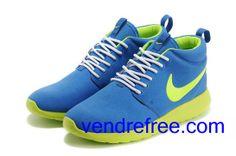 size 40 f987b cc518 Vendre Pas Cher Chaussures Homme Nike Rushe Run (couleur vamp-bleu,interieur
