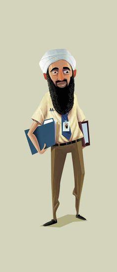 Gripper Zipper: Osama #printads #advertising #printpostes #creativeadvertisement #creativeideas