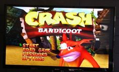 Crash bandicoot  Sony PlayStation 1 (PAL)  PS1 -  FREE Postage disk only
