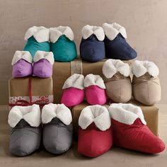 Down Booties / Slippers | The Company Store