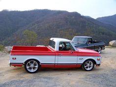 Pics of Orange and white trucks?? - The 1947 - Present Chevrolet & GMC Truck Message Board Network