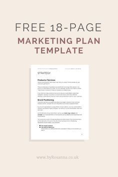 simple marketing plan template for small business - 1000 images about entrepreneurs solopreneurs on